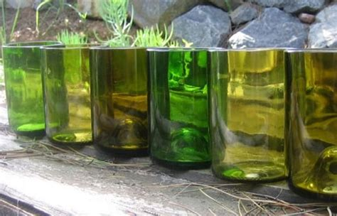 Custom Glasses Recycled from Your Very Own Wine Bottles