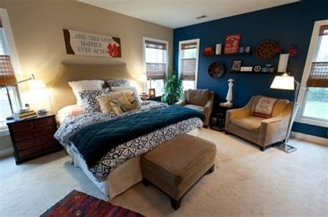 Blue And Turquoise Accents In Bedroom Designs – 39 Stylish