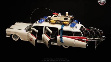 Check out Blitzway's 1:6 'Ghostbusters' Ecto-1 scale model