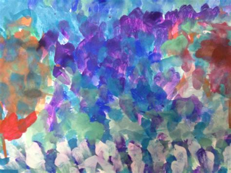 """Painting with Impressionism - """"After Monet"""" • TeachKidsArt"""