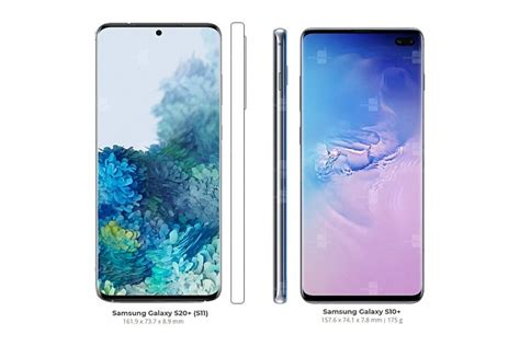 S20 size comparison with the S10 - Android Forums at