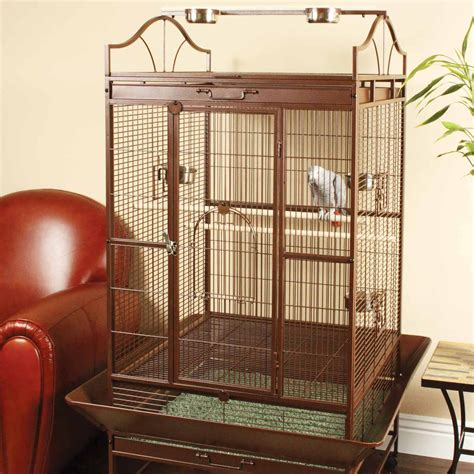 You & Me Standing Parrot Cage   Petco