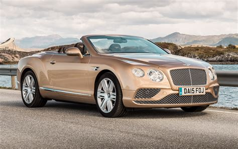 2015 Bentley Continental GT Convertible - Wallpapers and
