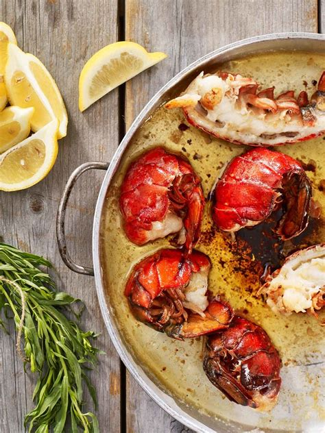 Butter Poached Maine Lobster Tails | Lobster from Maine