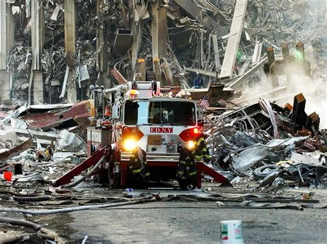 Urgent to reach the lost, like firemen on 9/11