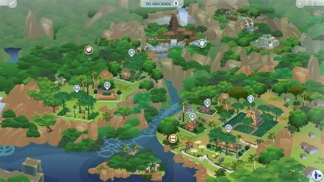 Rebuilt Worlds by prettypetalgirl at Mod The Sims » Sims 4