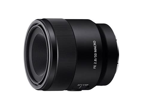 Sony Introduces E-Mount 50mm F2