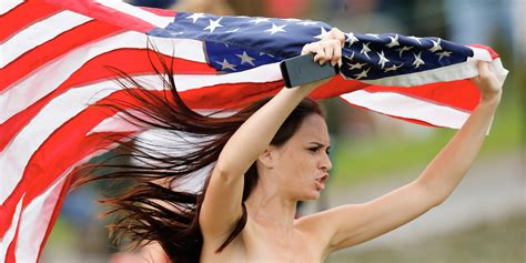 Kimberly Webster, Streaker At Presidents Cup, Inspired By