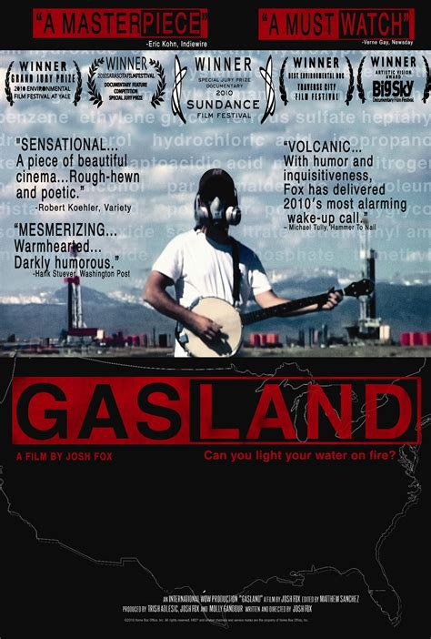 Film review: GasLand (2010) - Blue and Green Tomorrow