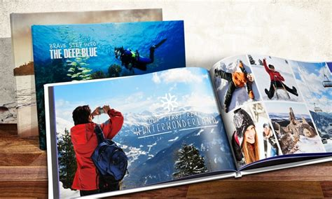 A4 Landscape Hardcover Photo Book   Groupon Goods