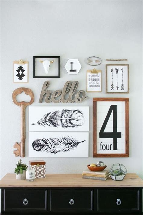 How to Arrange Your Gallery Wall - 20 pics - MessageNote