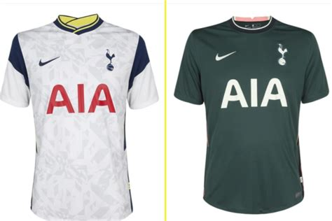 Tottenham new kit: Spurs release official home and away