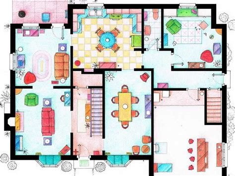 See The Floor Plans From Your Favorite TV Homes   Floor