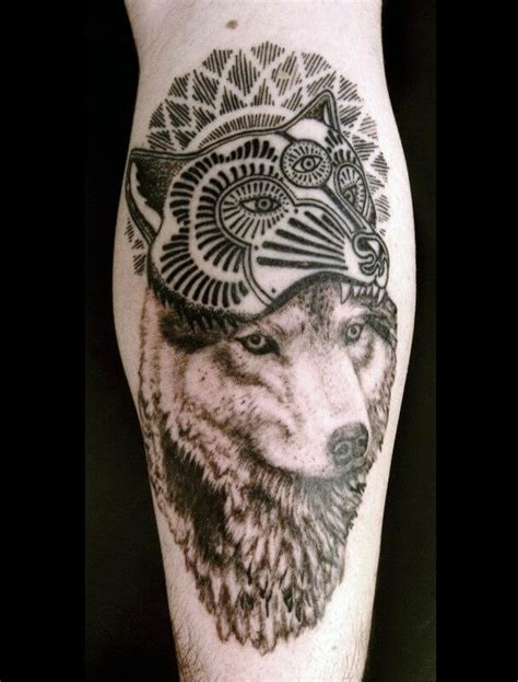 The 85 Best Wolf Tattoos for Men   Improb