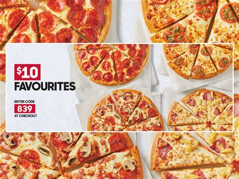 Pizza Hut Canada Puts Together New $10 Favourites Deal
