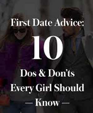 Attending your first date can be a disaster if you forget