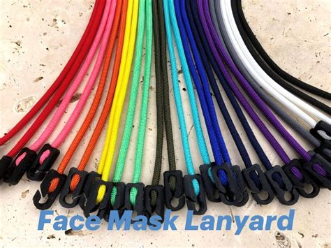 Face Mask Lanyard - Made in the USA   Mask necklace, Diy