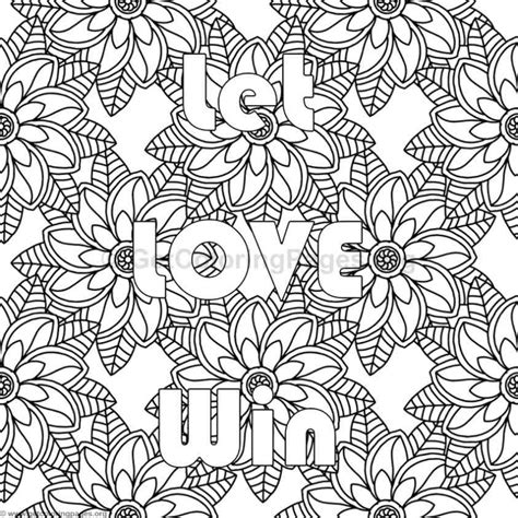 Inspirational Word Coloring Pages #80 – GetColoringPages