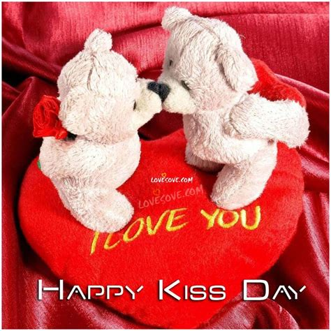 Happy Kiss Day Status & Quotes, Kiss Day Wallpaper