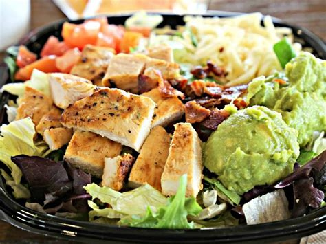 The Healthiest Fast Food Salads in Canada   Best Health