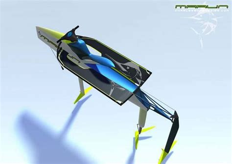 Marlin Electric Personal Hydrofoil concept | wordlessTech