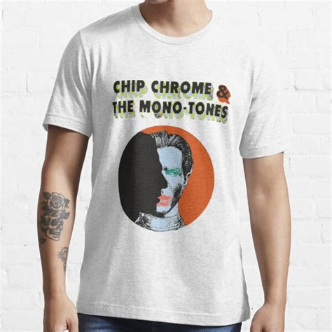 """""""The NBHD Chip Chrome & The Monotones"""" T-shirt by"""