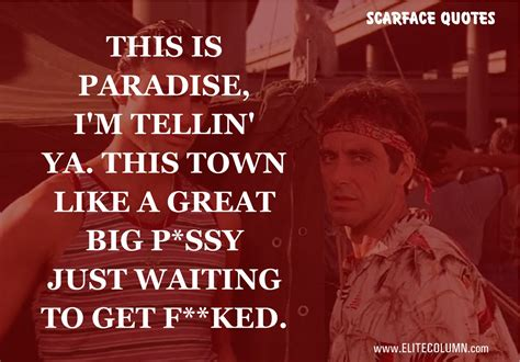 14 Best Scarface Quotes Only For 18 Years Old and Above